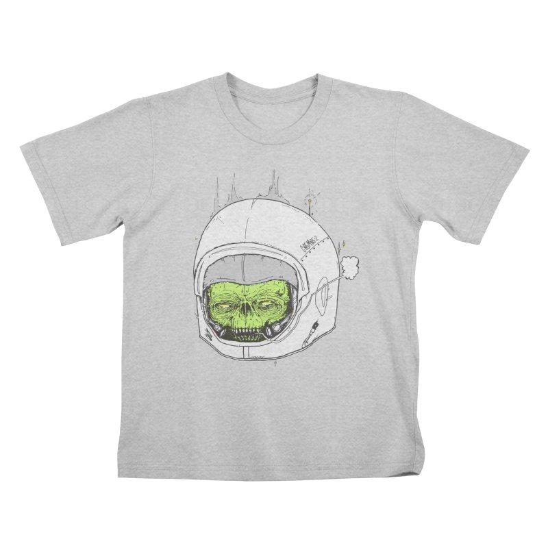 Blackest Hole Kids T-Shirt by Garrett Shane Bryant