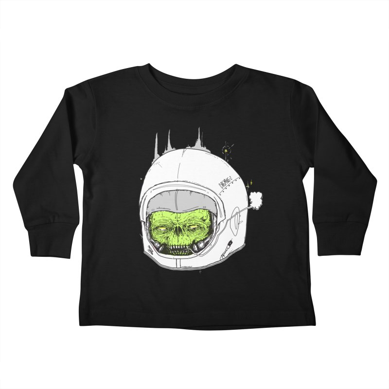 Blackest Hole Kids Toddler Longsleeve T-Shirt by Garrett Shane Bryant