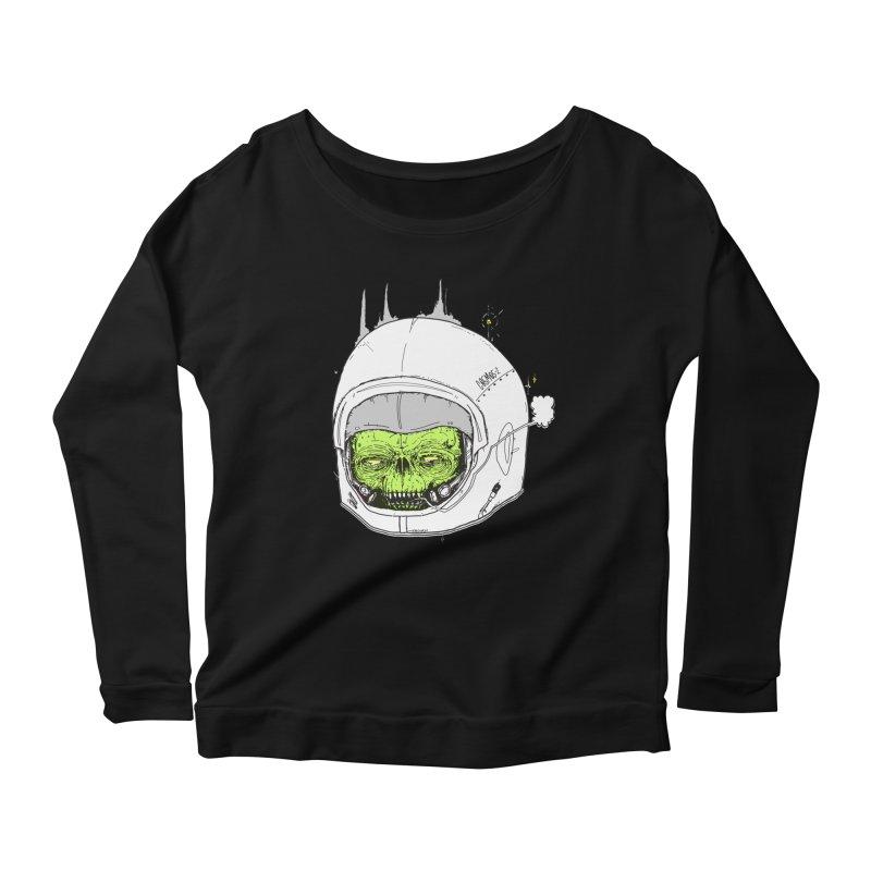 Blackest Hole Women's Scoop Neck Longsleeve T-Shirt by Garrett Shane Bryant