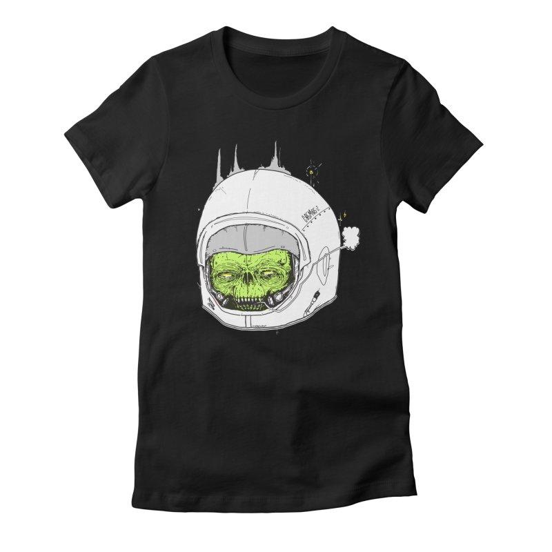 Blackest Hole Women's Fitted T-Shirt by Garrett Shane Bryant