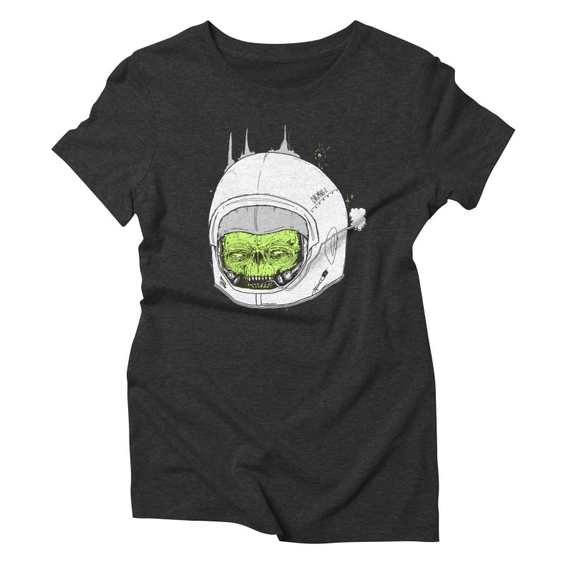 Blackest Hole Women's Triblend T-Shirt by Garrett Shane Bryant