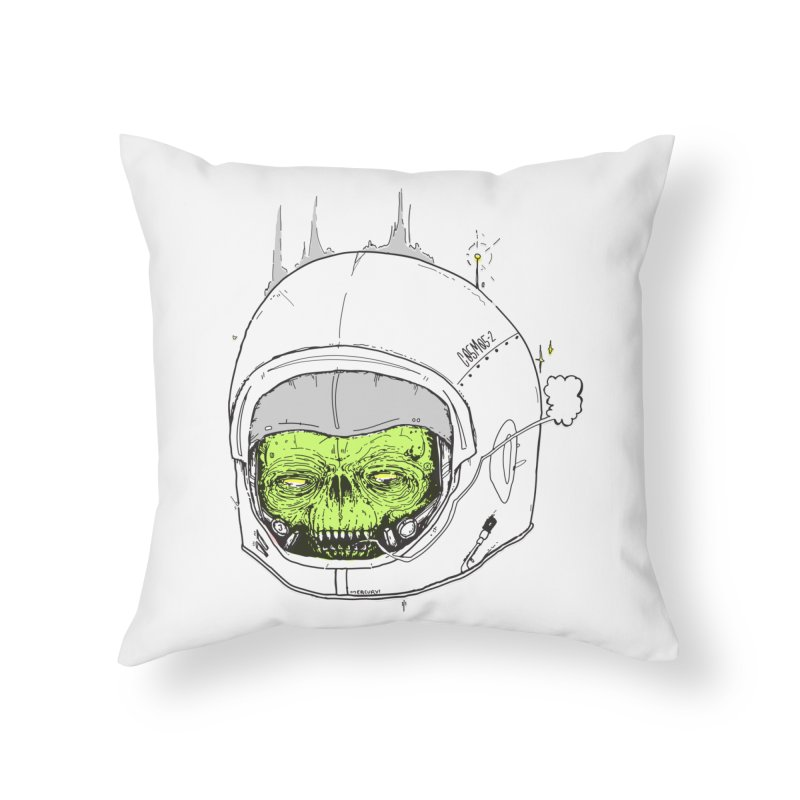 Blackest Hole Home Throw Pillow by Garrett Shane Bryant