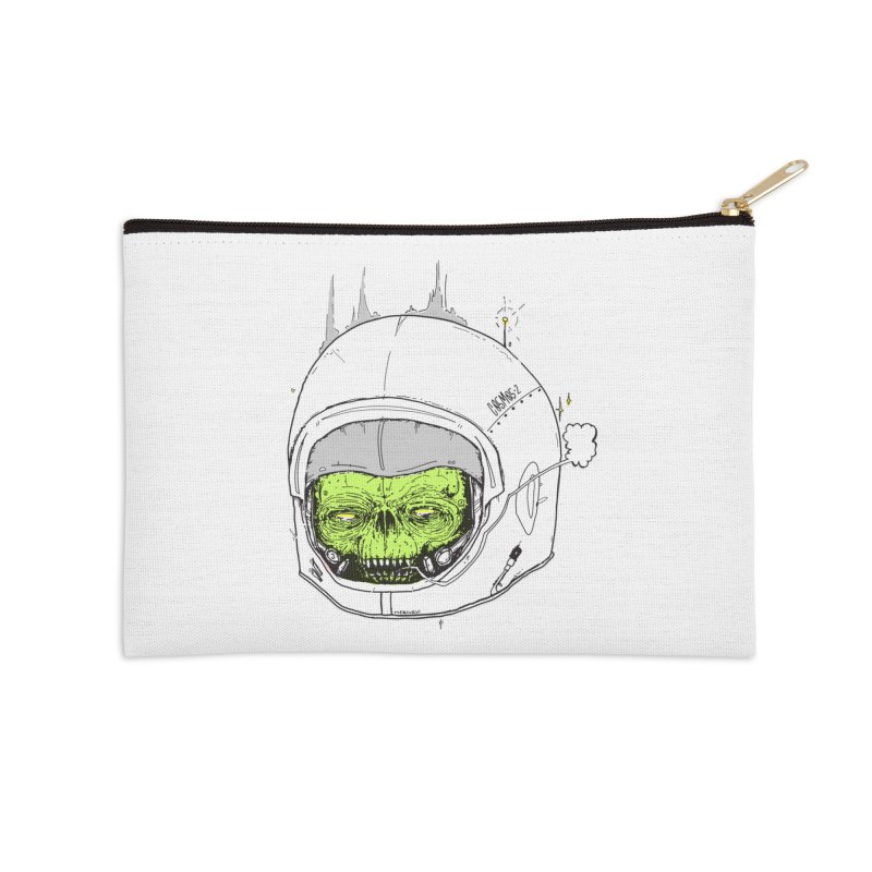 Blackest Hole Accessories Zip Pouch by Garrett Shane Bryant