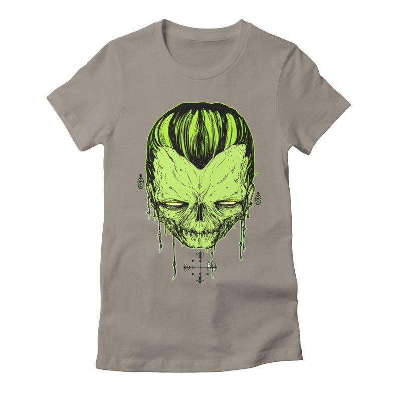 Sangoma Women's Fitted T-Shirt by Garrett Shane Bryant