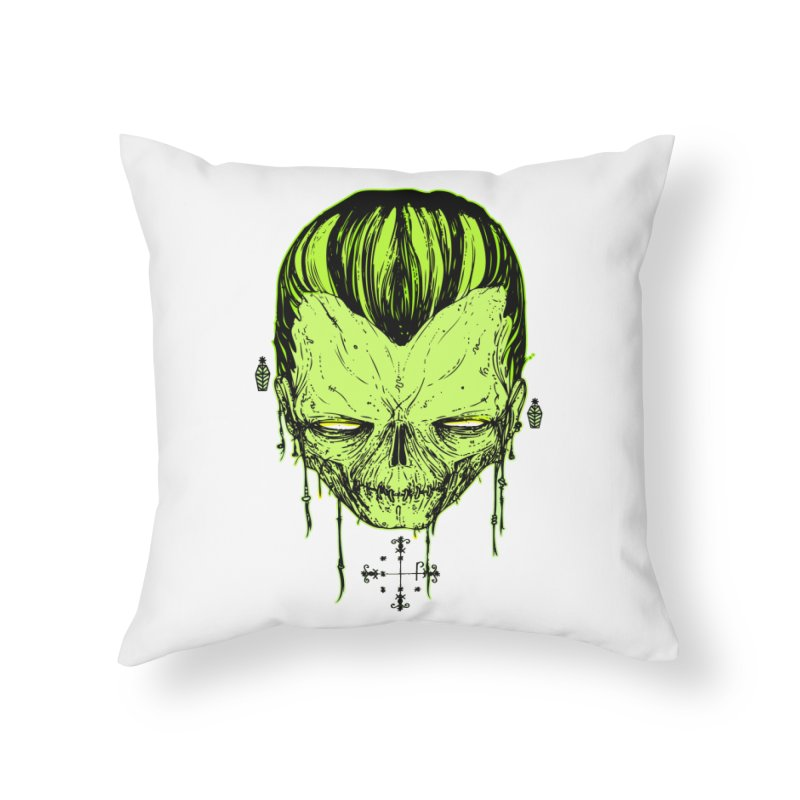 Sangoma Home Throw Pillow by Garrett Shane Bryant