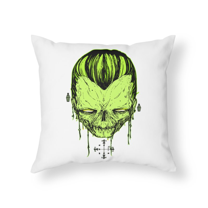 Sangoma Home Throw Pillow by Garrett Shane Bryant