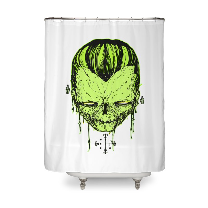 Sangoma Home Shower Curtain by Garrett Shane Bryant