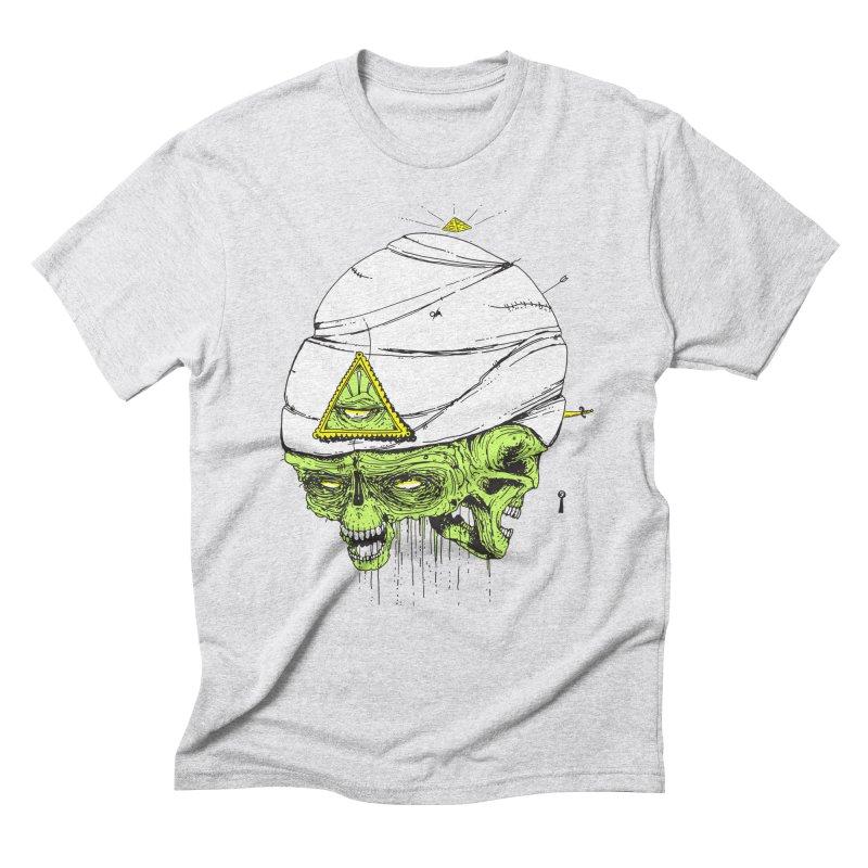Onubis Men's Triblend T-Shirt by Garrett Shane Bryant