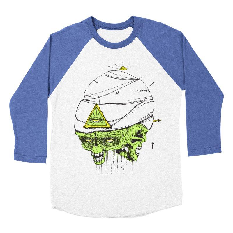 Onubis Women's Baseball Triblend Longsleeve T-Shirt by Garrett Shane Bryant
