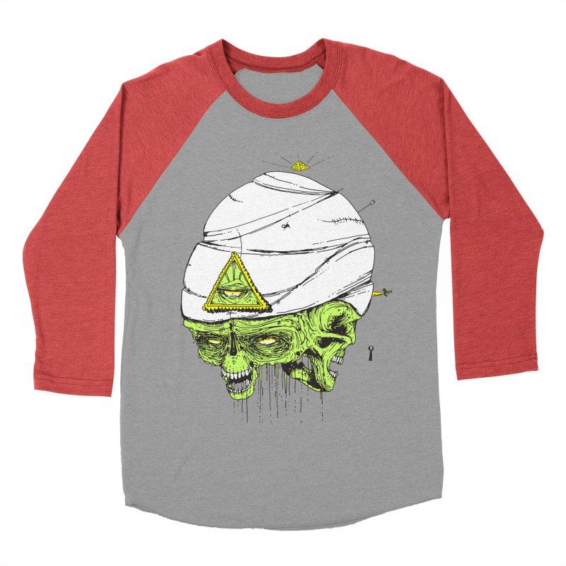 Onubis Women's Baseball Triblend T-Shirt by Garrett Shane Bryant