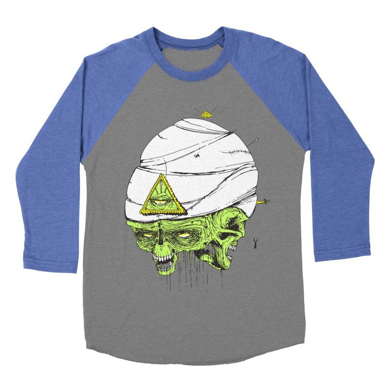 Onubis Men's Baseball Triblend Longsleeve T-Shirt by Garrett Shane Bryant
