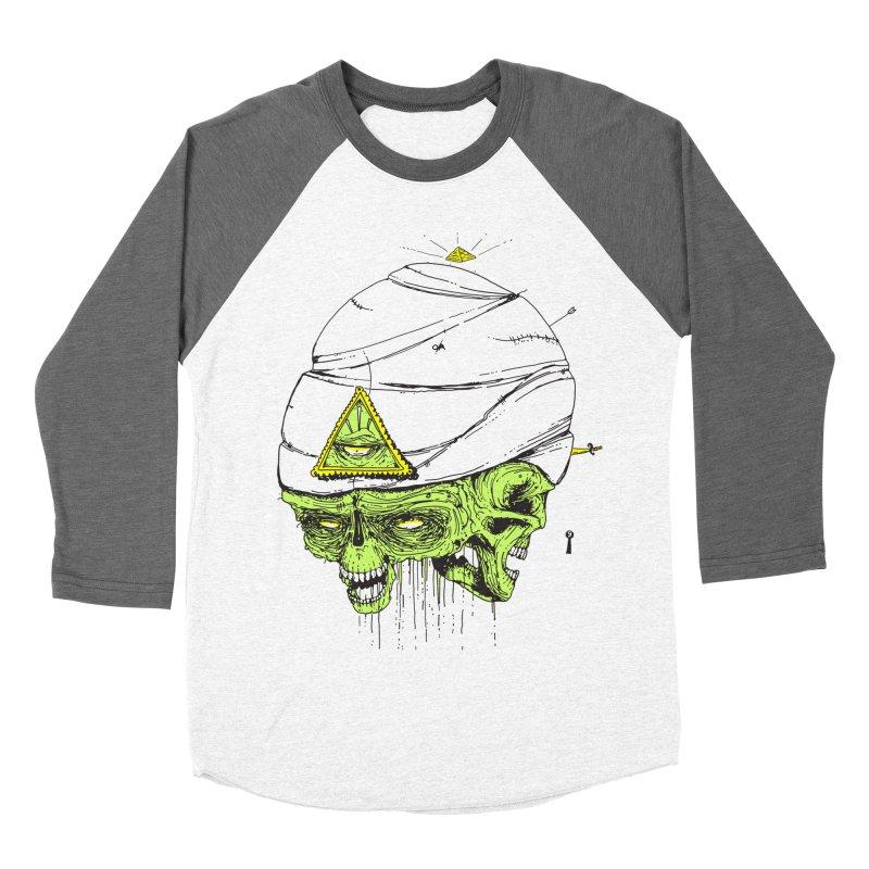 Onubis Men's Baseball Triblend T-Shirt by Garrett Shane Bryant