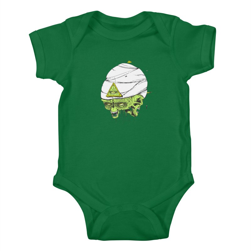 Onubis Kids Baby Bodysuit by Garrett Shane Bryant
