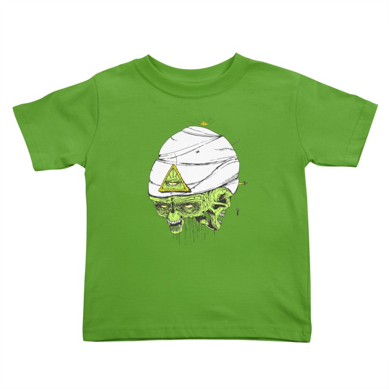 Onubis Kids Toddler T-Shirt by Garrett Shane Bryant