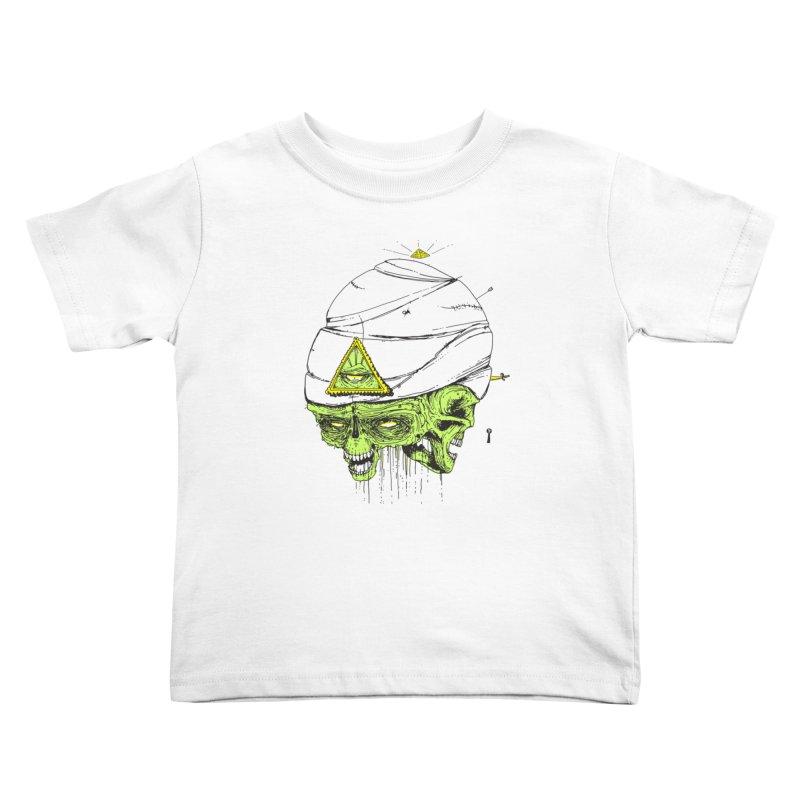 Onubis Kids Toddler T-Shirt by Garrett Shane Bryant