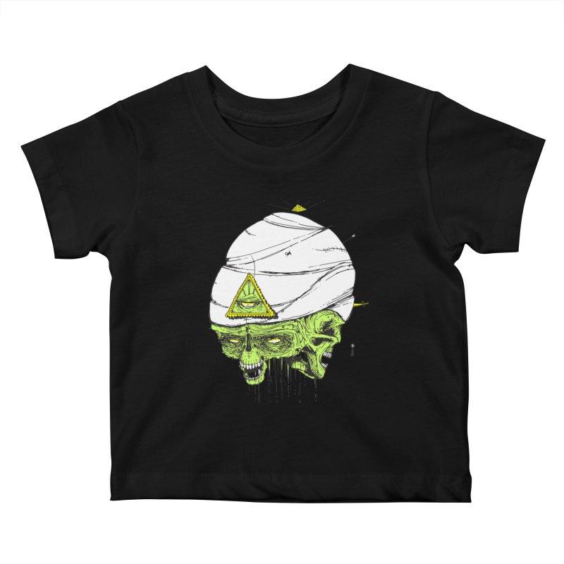 Onubis Kids Baby T-Shirt by Garrett Shane Bryant