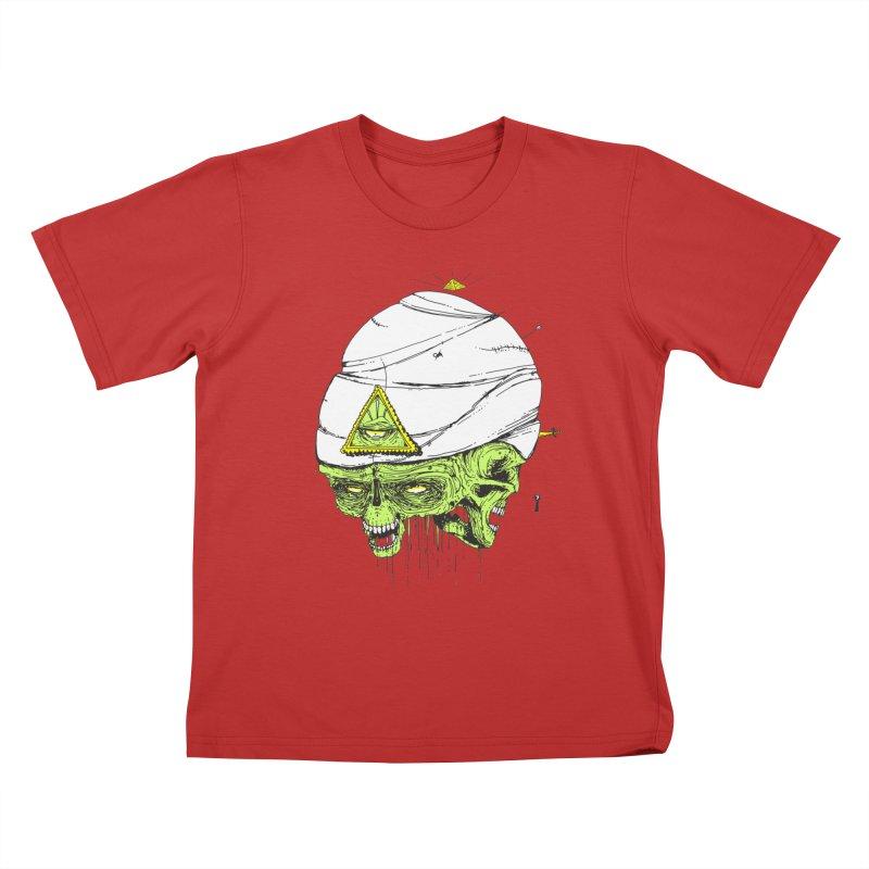 Onubis Kids T-Shirt by Garrett Shane Bryant
