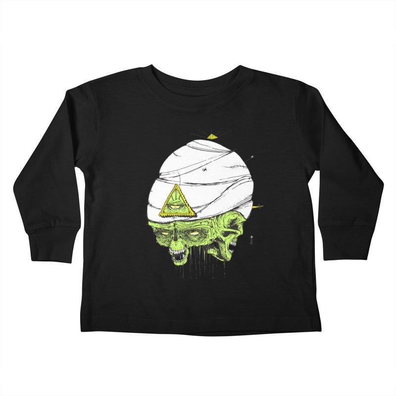 Onubis Kids Toddler Longsleeve T-Shirt by Garrett Shane Bryant