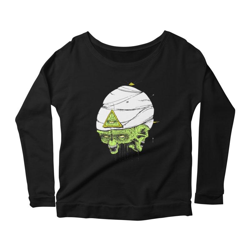 Onubis Women's Scoop Neck Longsleeve T-Shirt by Garrett Shane Bryant