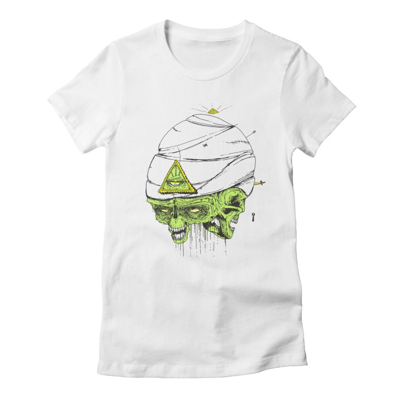 Onubis Women's Fitted T-Shirt by Garrett Shane Bryant