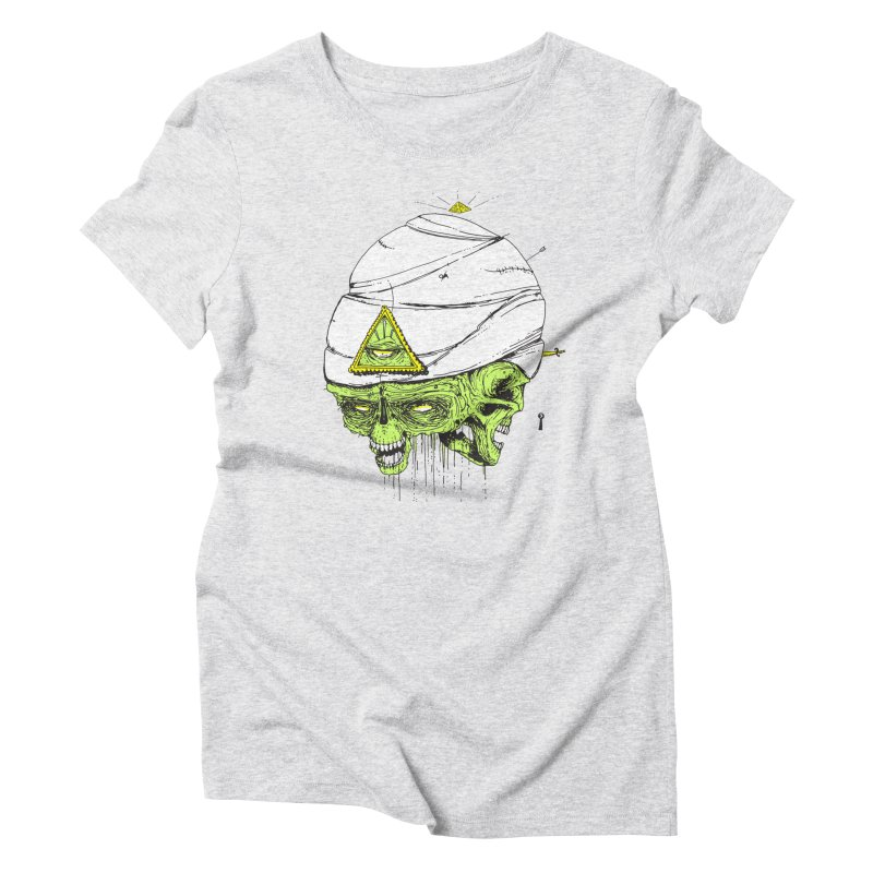 Onubis Women's Triblend T-Shirt by Garrett Shane Bryant