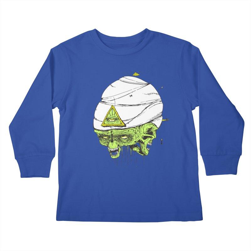 Onubis Kids Longsleeve T-Shirt by Garrett Shane Bryant