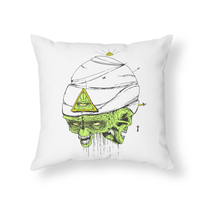 Onubis Home Throw Pillow by Garrett Shane Bryant