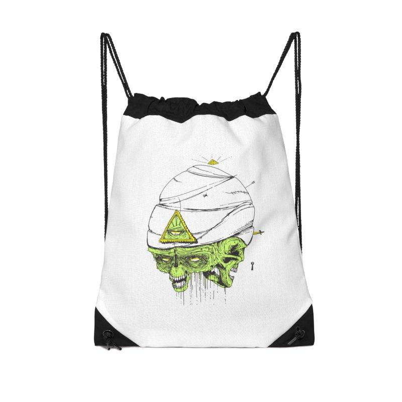 Onubis Accessories Drawstring Bag Bag by Garrett Shane Bryant