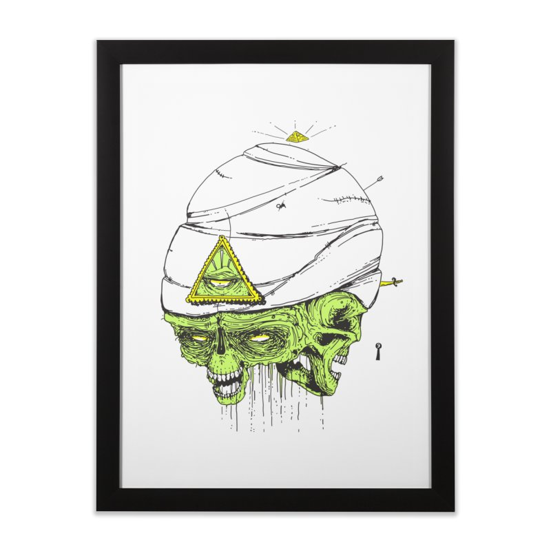 Onubis Home Framed Fine Art Print by Garrett Shane Bryant