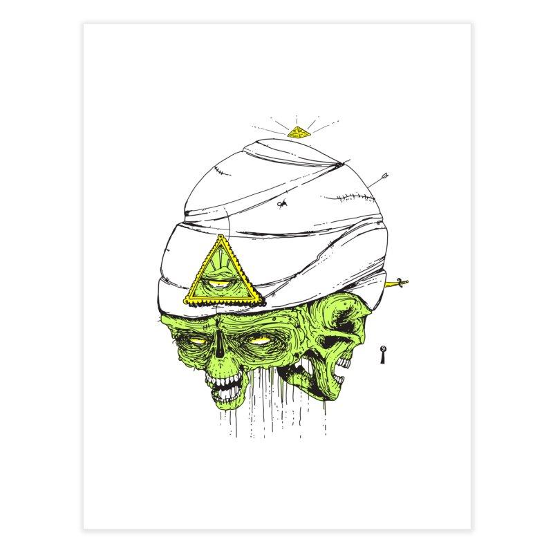 Onubis Home Fine Art Print by Garrett Shane Bryant
