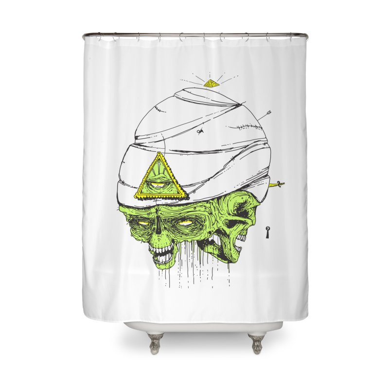 Onubis Home Shower Curtain by Garrett Shane Bryant