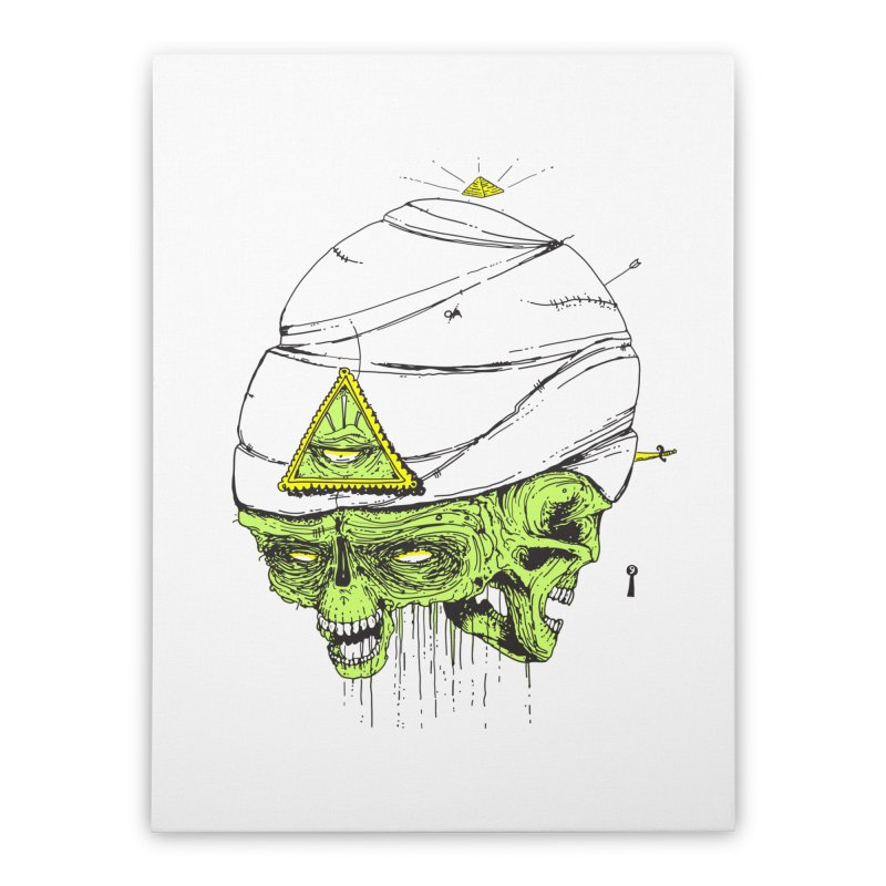 Onubis Home Stretched Canvas by Garrett Shane Bryant