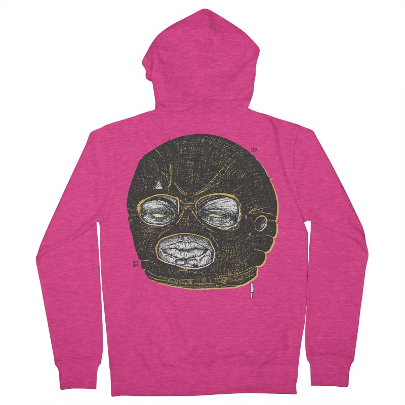 Rotgut Women's French Terry Zip-Up Hoody by Garrett Shane Bryant