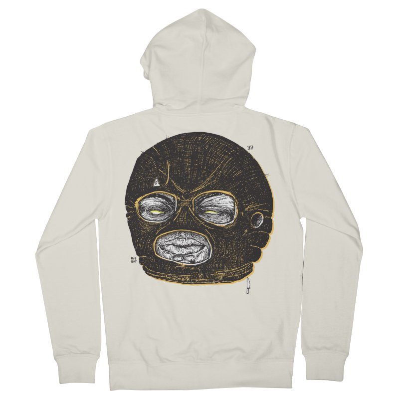 Rotgut Men's Zip-Up Hoody by Garrett Shane Bryant