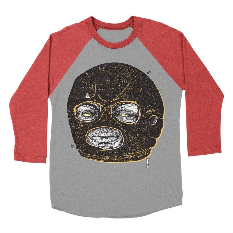 Rotgut Men's Baseball Triblend Longsleeve T-Shirt by Garrett Shane Bryant