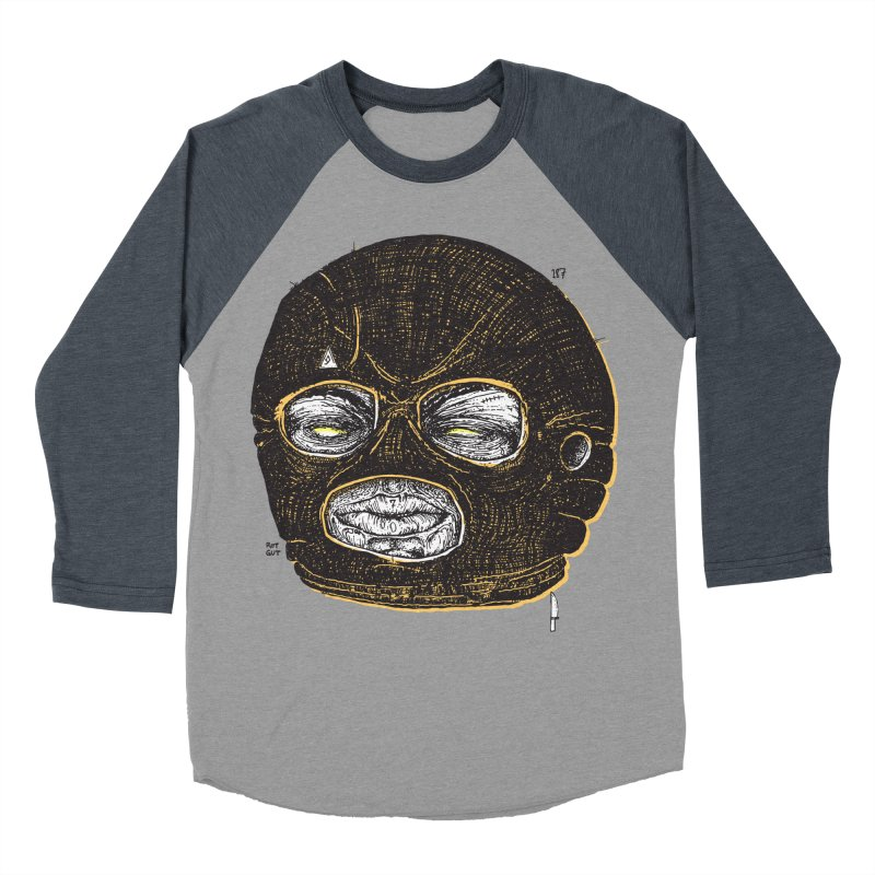 Rotgut Men's Baseball Triblend T-Shirt by Garrett Shane Bryant