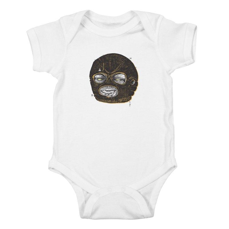 Rotgut Kids Baby Bodysuit by Garrett Shane Bryant