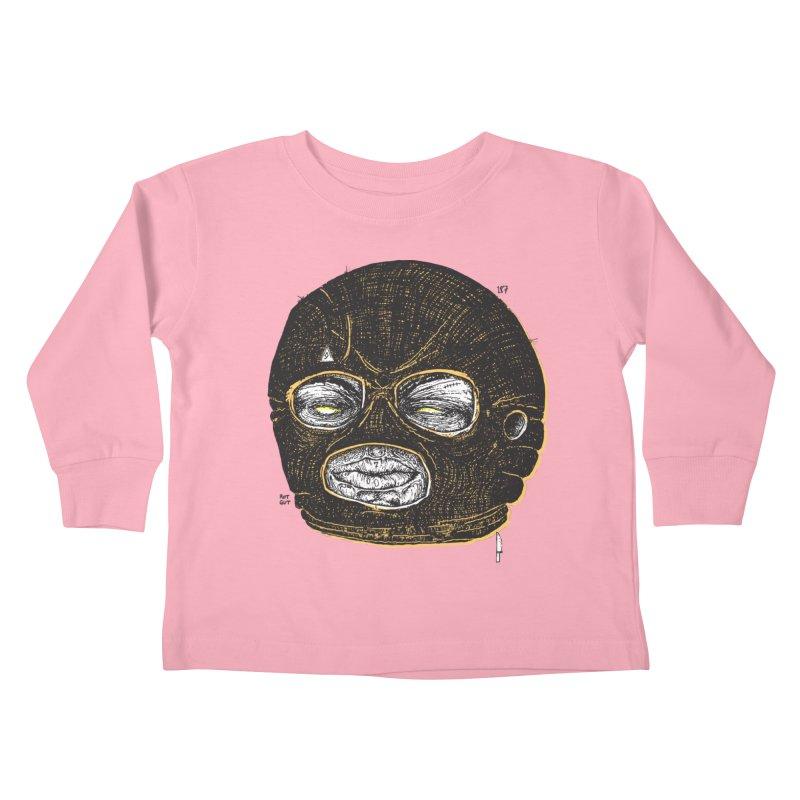Rotgut Kids Toddler Longsleeve T-Shirt by Garrett Shane Bryant