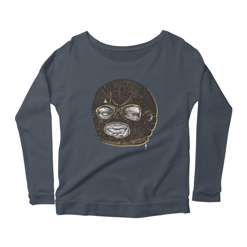 Rotgut Women's Scoop Neck Longsleeve T-Shirt by Garrett Shane Bryant