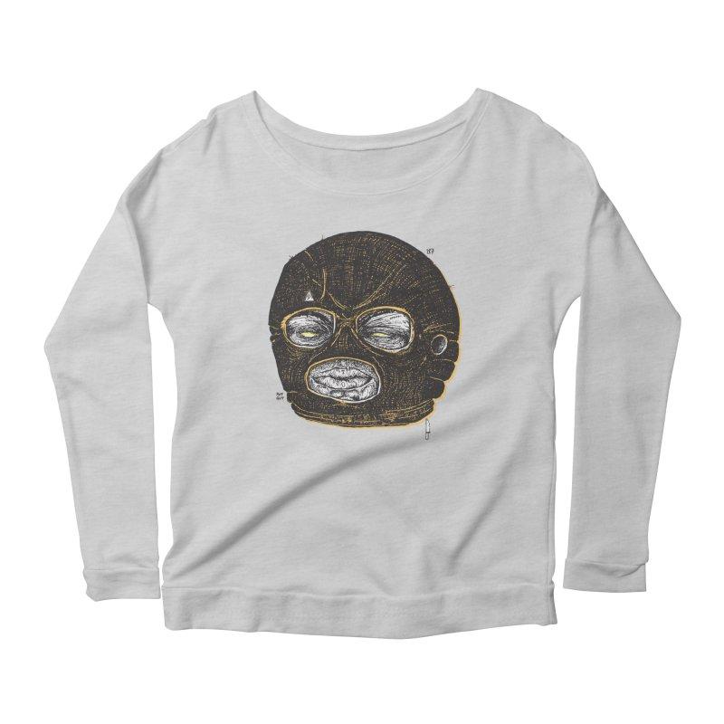 Rotgut Women's Scoop Neck Longsleeve T-Shirt by Garrett Shane Bryant