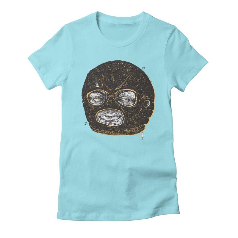 Rotgut Women's Fitted T-Shirt by Garrett Shane Bryant