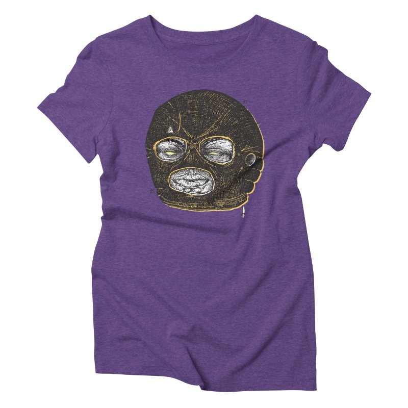 Rotgut Women's Triblend T-Shirt by Garrett Shane Bryant