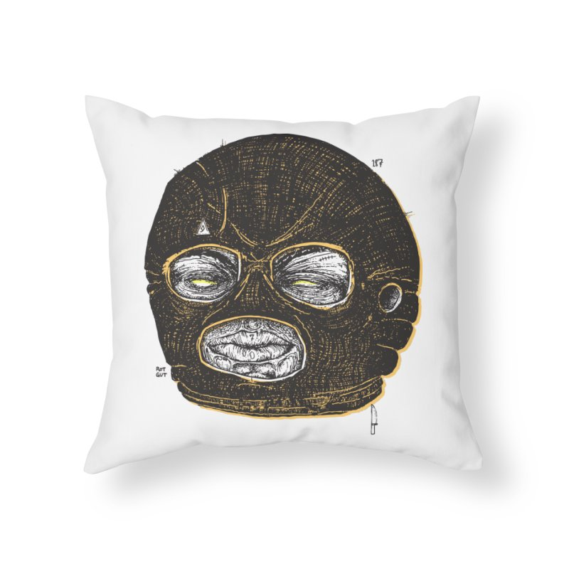 Rotgut Home Throw Pillow by Garrett Shane Bryant