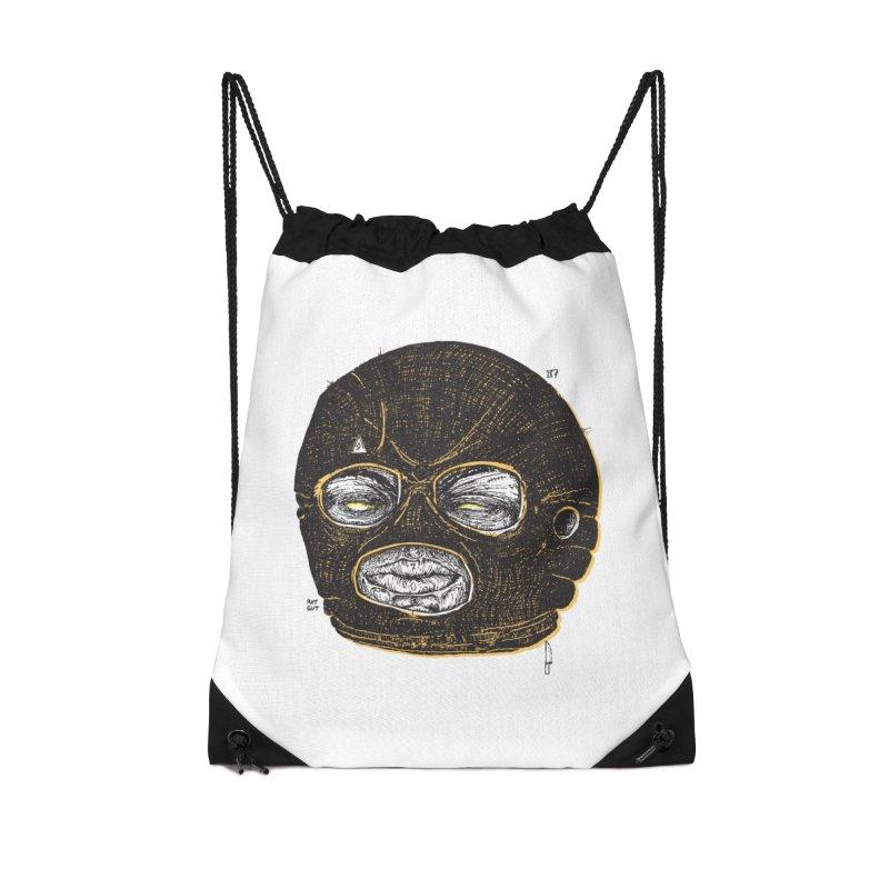 Rotgut Accessories Drawstring Bag Bag by Garrett Shane Bryant