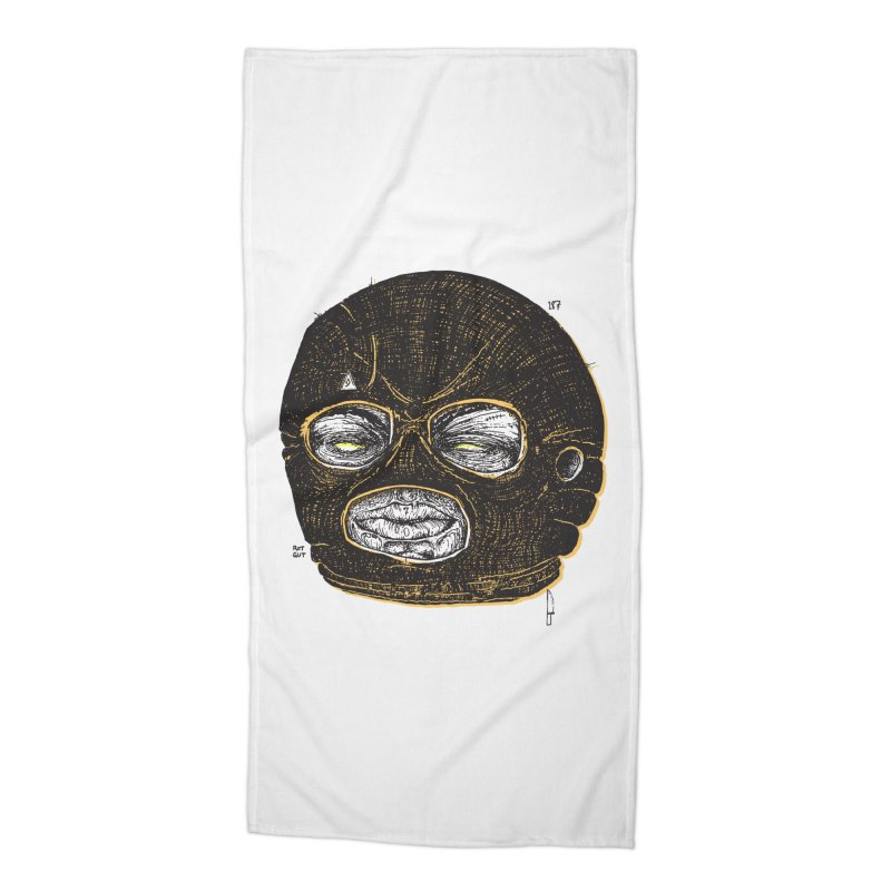 Rotgut Accessories Beach Towel by Garrett Shane Bryant