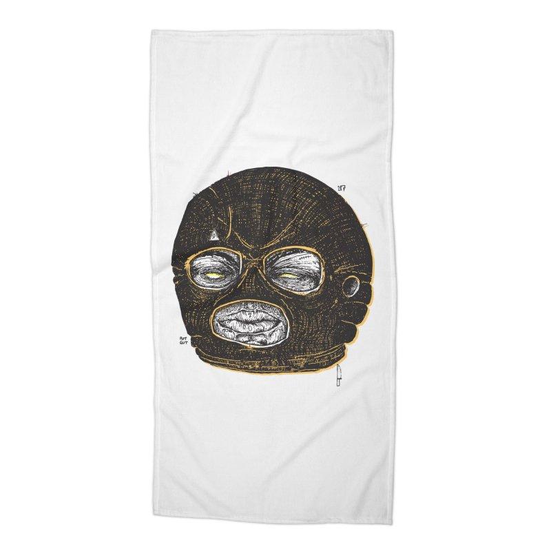Rotgut Accessories Beach Towel by Garrett Shane Bryant