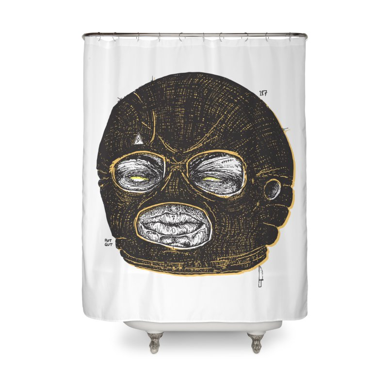 Rotgut Home Shower Curtain by Garrett Shane Bryant