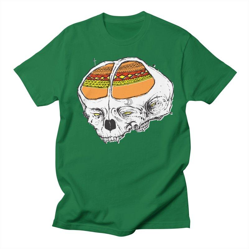 Wolf Shamen Men's Regular T-Shirt by Garrett Shane Bryant