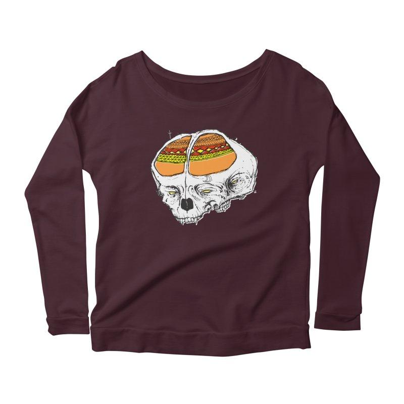 Wolf Shamen Women's Longsleeve T-Shirt by Garrett Shane Bryant