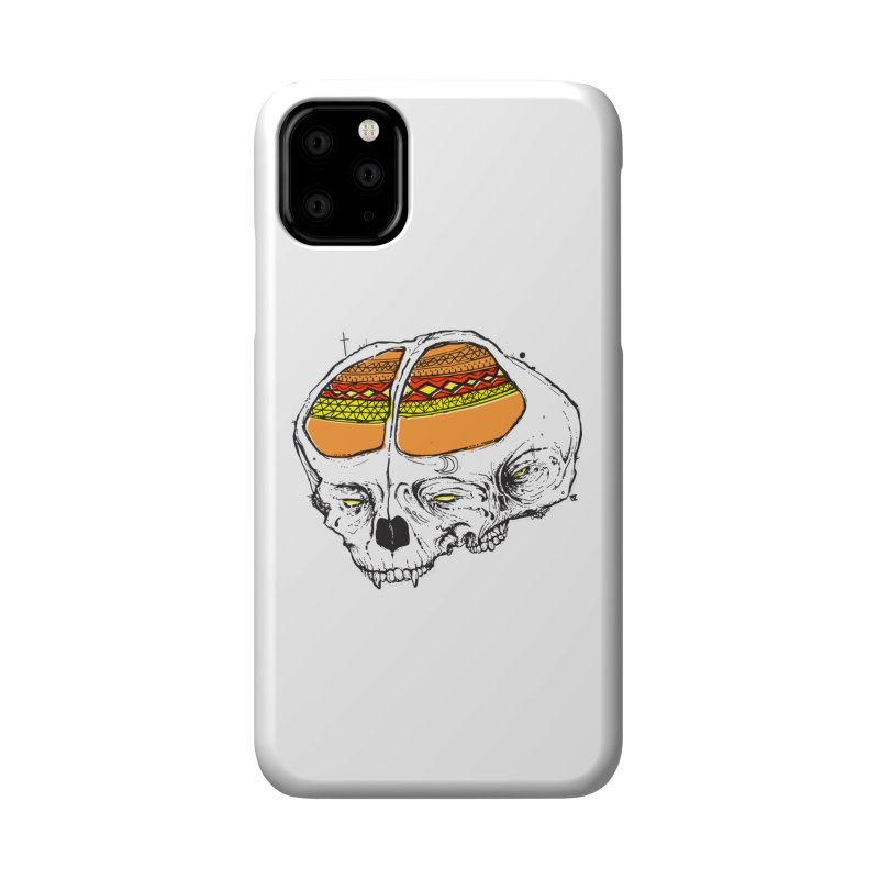Wolf Shamen Accessories Phone Case by Garrett Shane Bryant